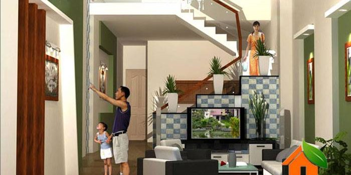 Small 2 Bedroom Mezzanine House in 65 m² Lot - Pinoy House Designs ...