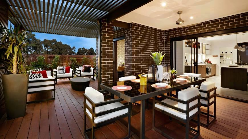 Picture of Australian Inspired Single Story Contemporary House