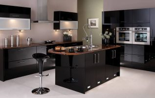 Picture of Impressive Black Kitchen Ideas for Modern Homes