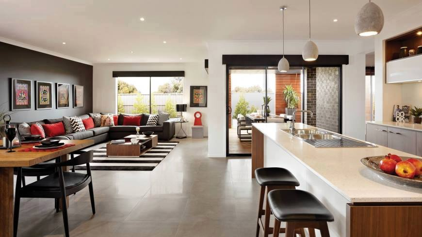 kitchen design course perth australian inspired single story contemporary house 261