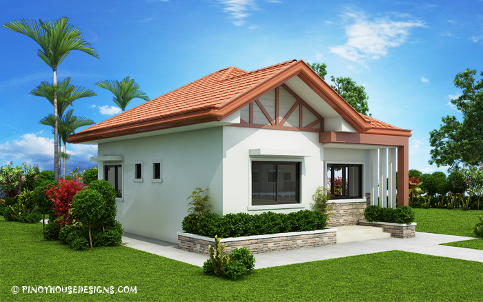 Two bedroom small house design