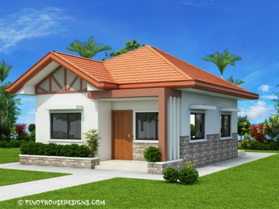 Pinoy house designs for Simple bungalow house design with terrace