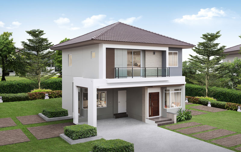 Picture of Fashionable Family Home with Interior Concepts