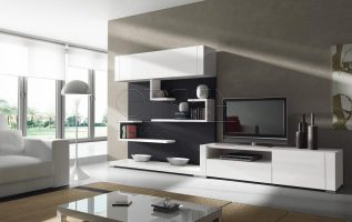 Picture of Splendid Concepts of Living Room and TV Entertainment
