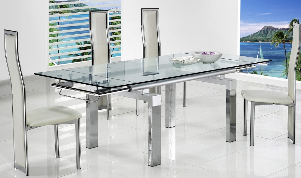 Picture of Extraordinary Glass Dining Tables for Finest Service