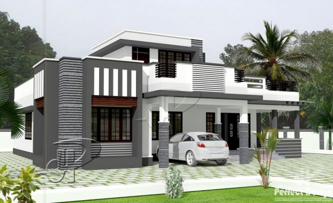 Picture of Sophisticated Single Floor Three Bedroom Contemporary House