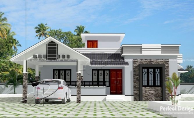 Picture of 103 sq. m. Stylish Single Story Contemporary House