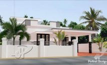 Picture of Slim and Modest Two Bedroom Residential House