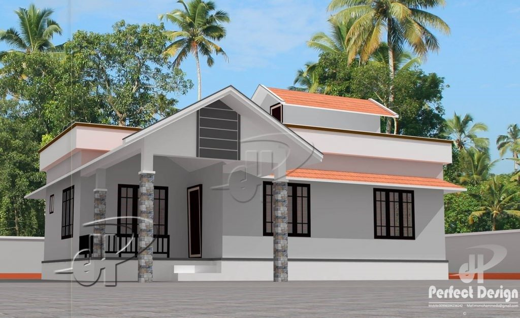 Picture of Simple One Bedroom Single Story House