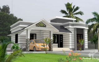 Picture of Single Floor Bungalow House Design