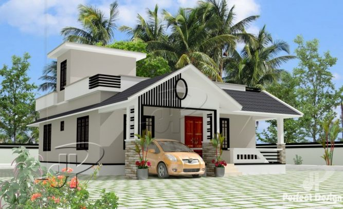 Single Story Contemporary House Design Pinoy House Designs