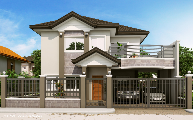 Romualdo Elegant Filipino Expression Of Contemporary House Pinoy House Designs