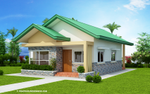 Picture of Corazon: Charming Three-Bedroom Bungalow House