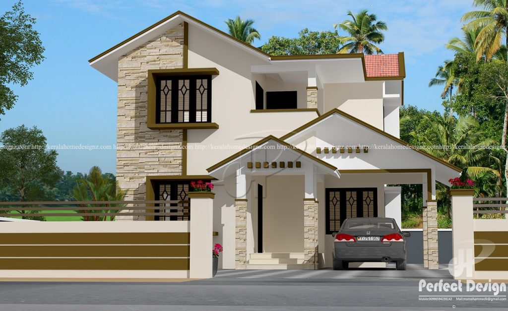 Picture of Majestic 4 Bedroom Two Story Contemporary House