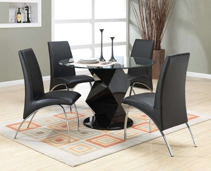 Round Gl Tables For Deluxe Dining