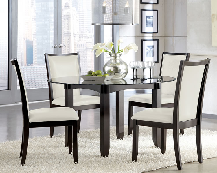 Fascinating Round Glass Tables For Deluxe Dining Pinoy House Designs Pinoy House Designs