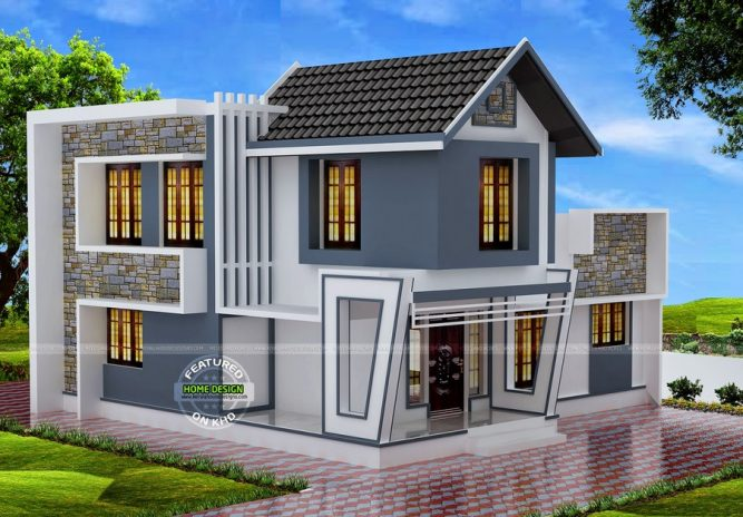 Picture of Glamorous Double Story Three Bedroom House with Striking Exterior