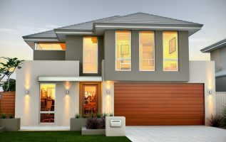 Picture of Powerful Contemporary Two Story House with interior Concepts