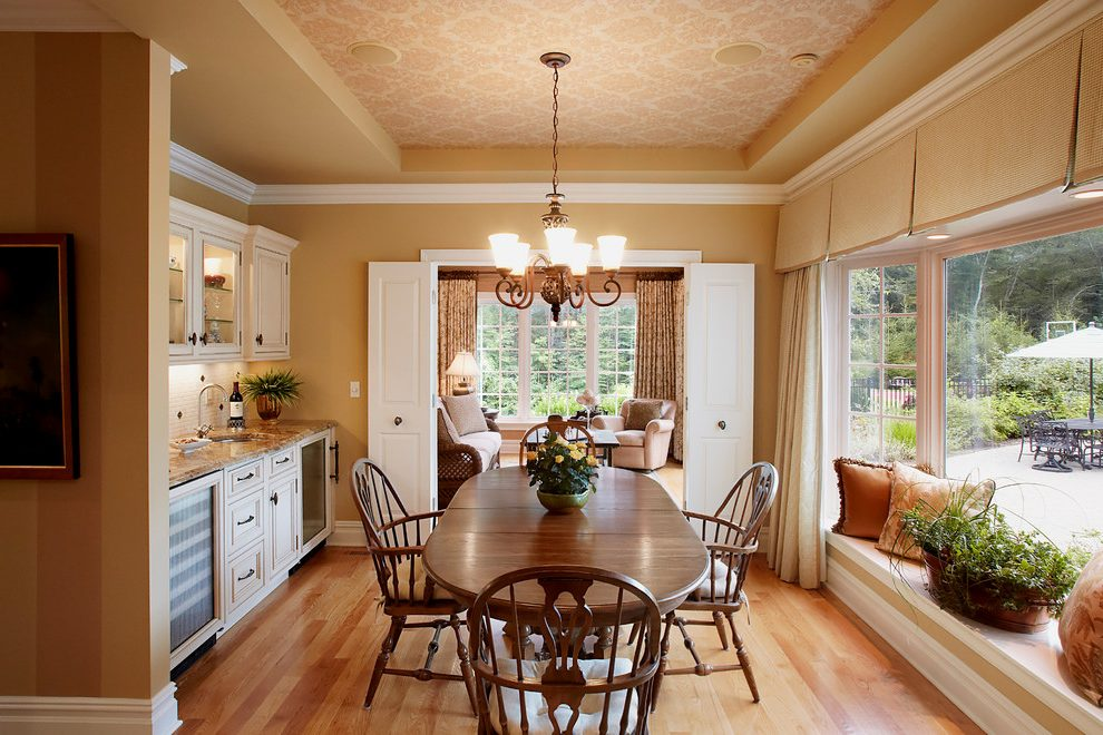 Distinctive Influences Of Traditional Dining Room Concepts
