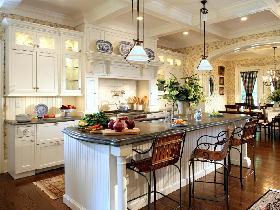 Picture of Multi Functional Island Kitchen Designs