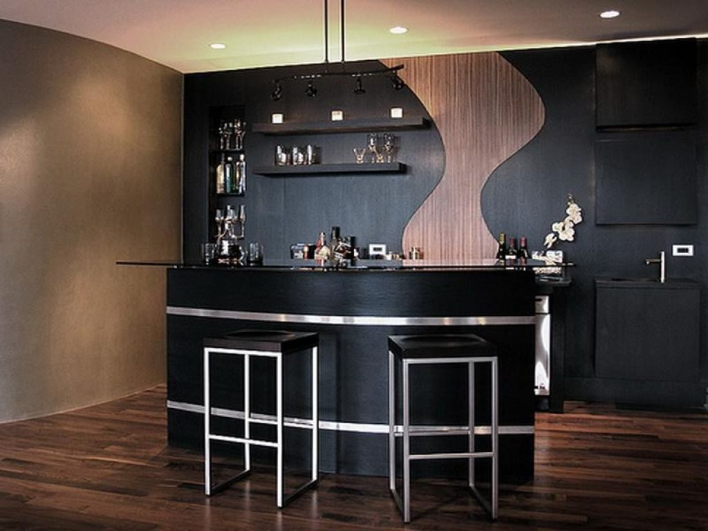 Captivating modern home bar counter designs pinoy house designs pinoy house designs - Contemporary bar counter design ...