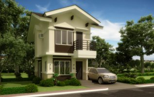 Picture of Evolving Interior Design of Slender Two Story Country House
