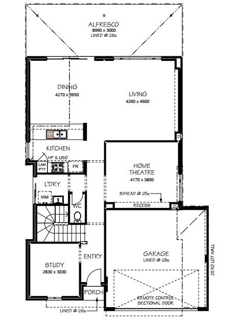 ground floor - pinoy house designs