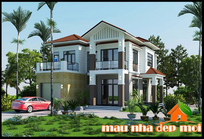 Picture of Compelling Two Story Contemporary House