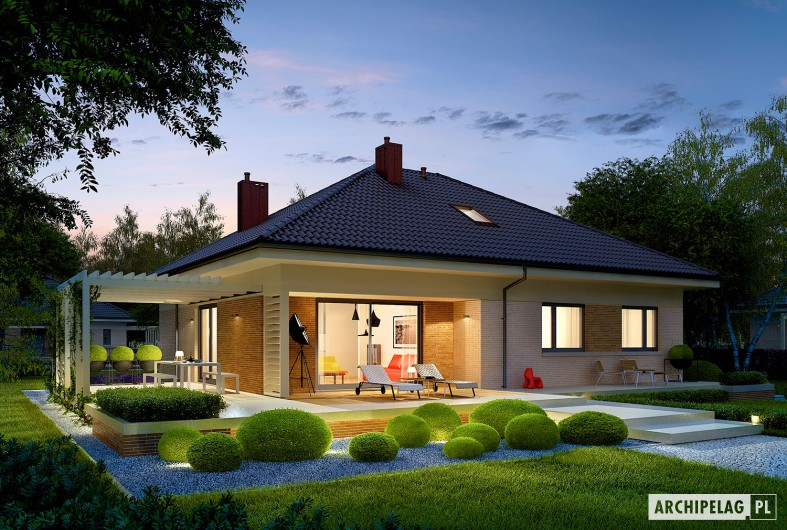 Picture of Modern Bungalow Family Home with Dynamic Features