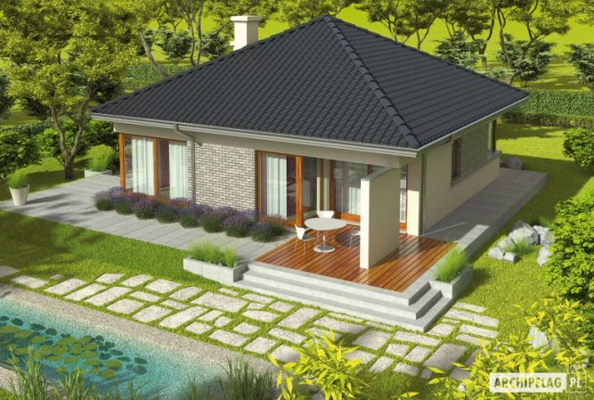 Picture Electrifying Single Story Residential House