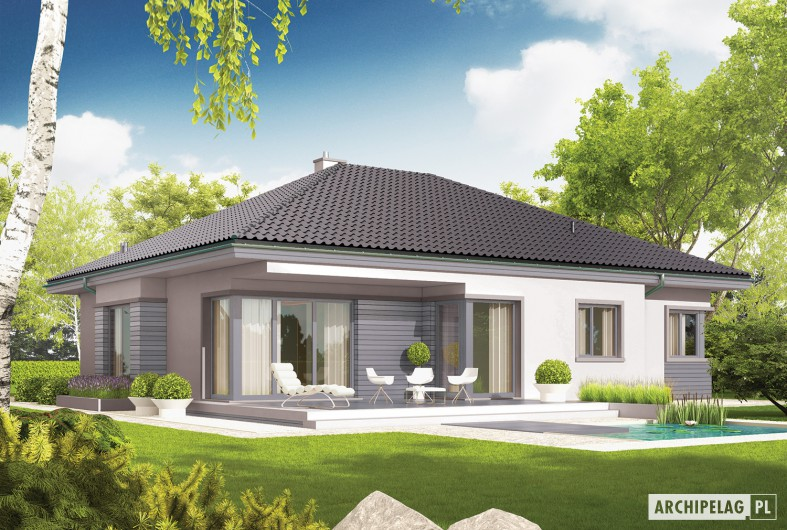 Picture Of Entrancing Single Story Bungalow House Plan