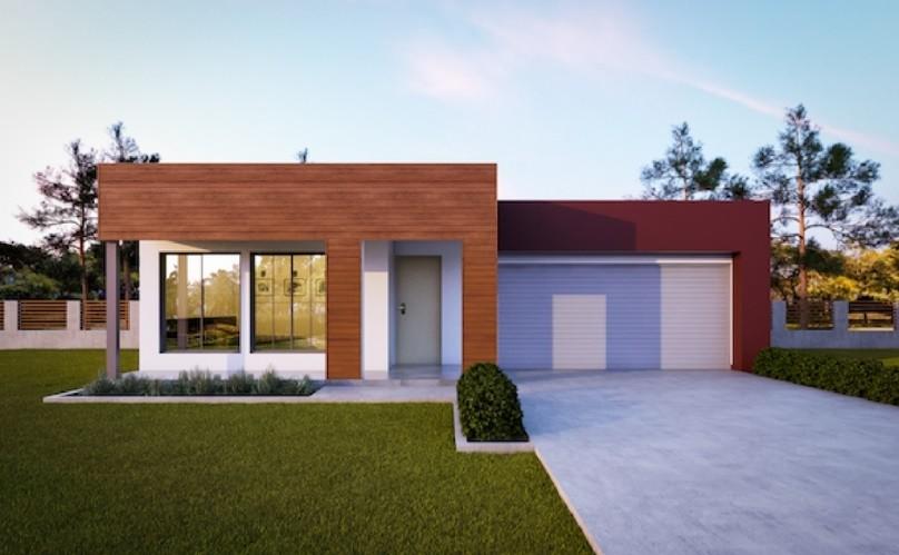 Australian Contemporary Energy Efficient Single Story Home