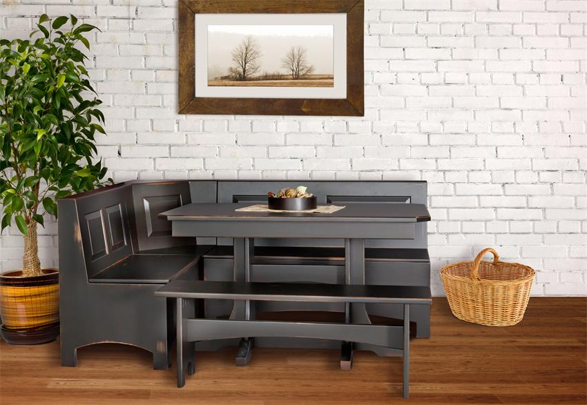 Picture of Electrifying Breakfast Nooks in Monochromatic Brown