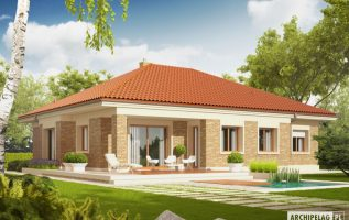 Picture of Vibrant Characteristics of Single Story Contemporary House