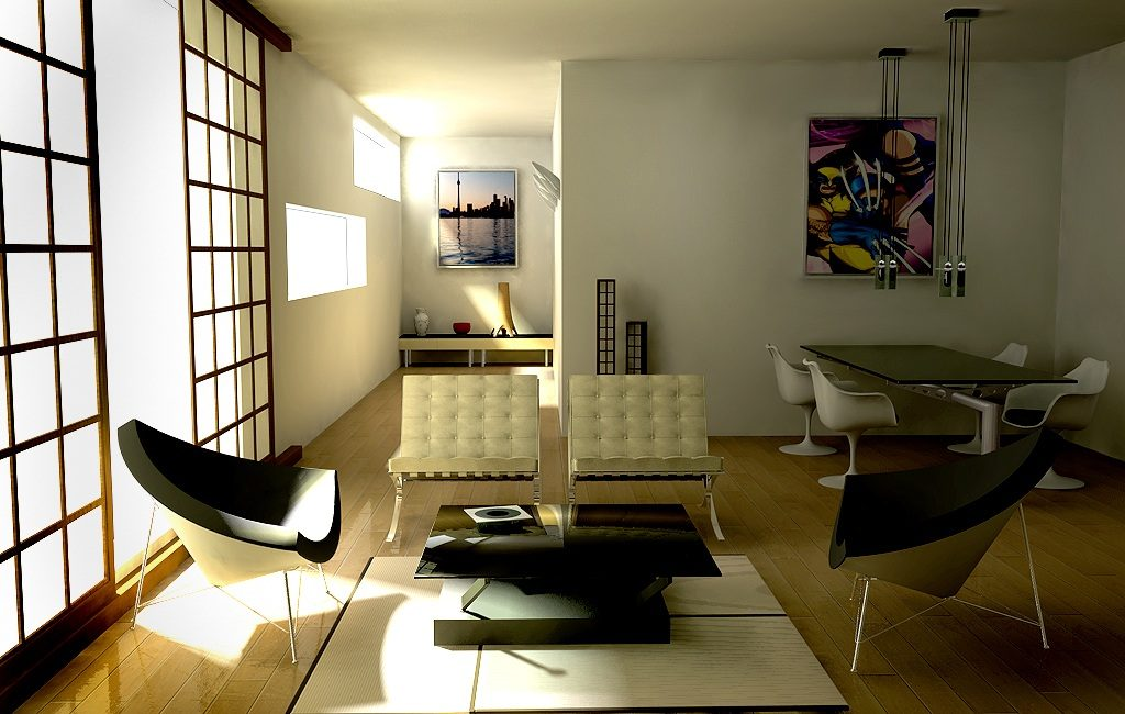 Picture of Marvelous and Functional Bachelors Pad for Everyday Living