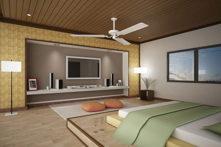 Picture of Smart Clever of Accessorizing the Bedroom with TV Unit