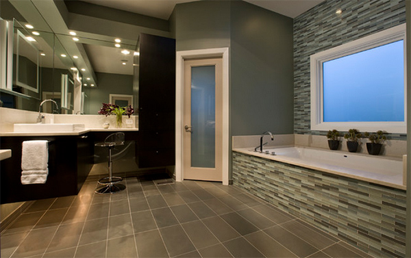Picture of Pleasing Ideas and Concepts for Bathroom Tiles