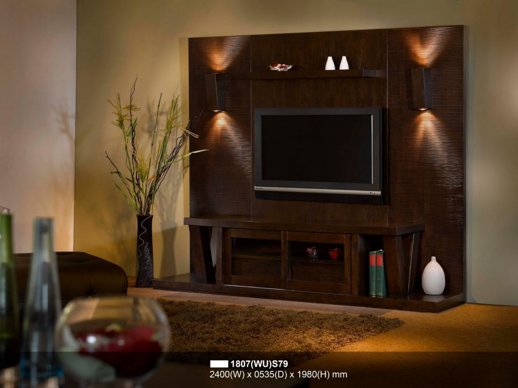 Picture of Simple Yet Excellent TV Wall Concepts
