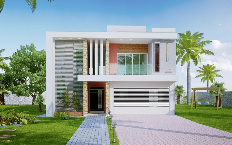 Picture of Advanced Two Story Contemporary House