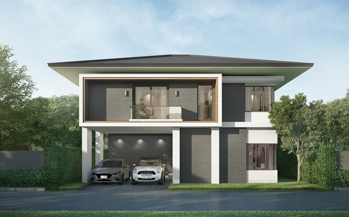 Picture of Esteemed Four Bedroom Contemporary House Plan
