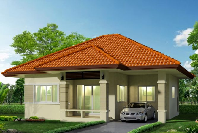 Picture of Engrossing and Refined Modern Bungalow House
