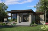 Picture of Endearing Three Bedroom Bungalow House Design