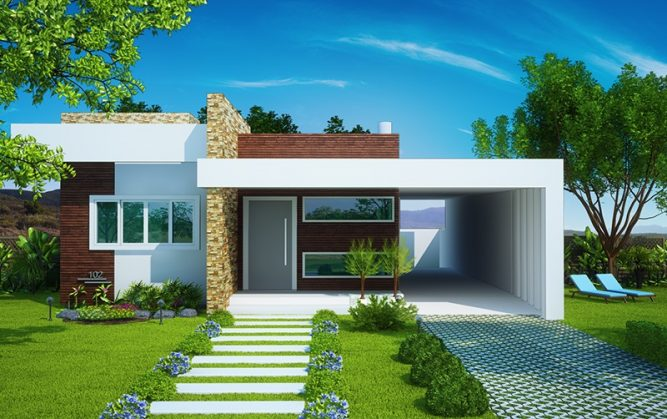 Picture of Modern Minimalist Residential House