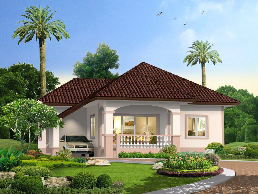 Graceful One Story Traditional Bungalow House Pinoy
