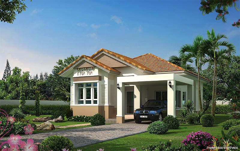 Picture of Flamboyant Single Story Contemporary House