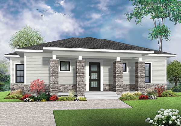 Picture of Western Influenced Modern One Story Design