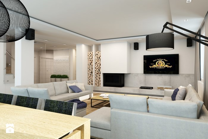 Picture of Futuristic Two Story House with Superb Interior Design