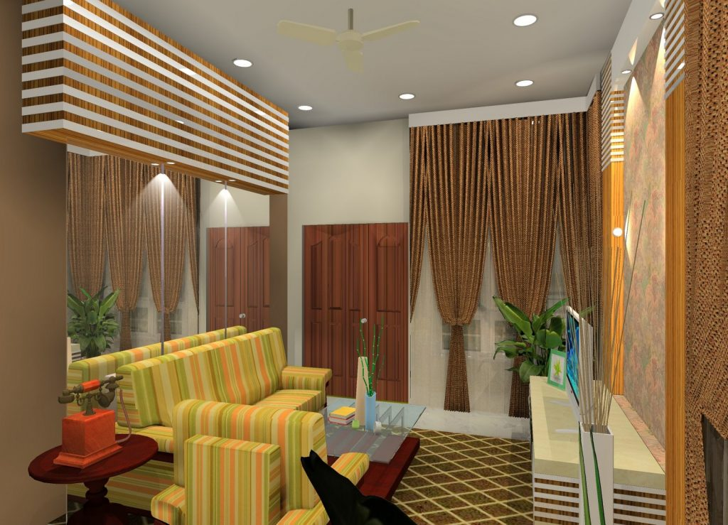 Lovely Interior Design of One Story Modern House - Pinoy ...