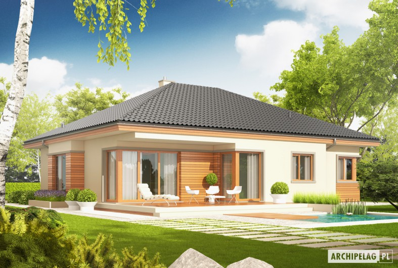 Picture of Spirited Facets of Energy Efficient Contemporary House
