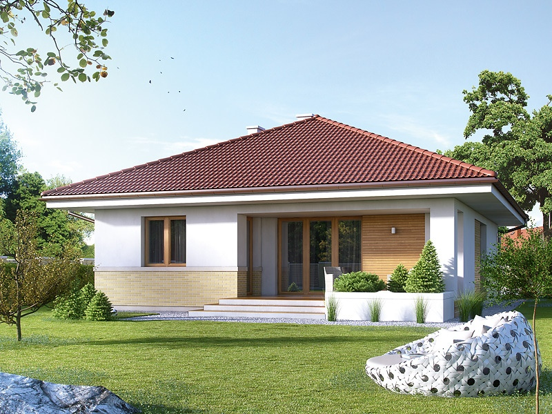 Picture of Enthralling Modern Bungalow House with Traditional Accent